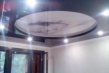 Натяжной потолок С фотопечатью 20 м2