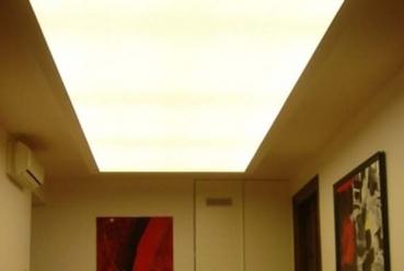 Светорассеивающий натяжной потолок 20 м2