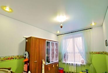 Натяжной потолок в детскую 20 м2